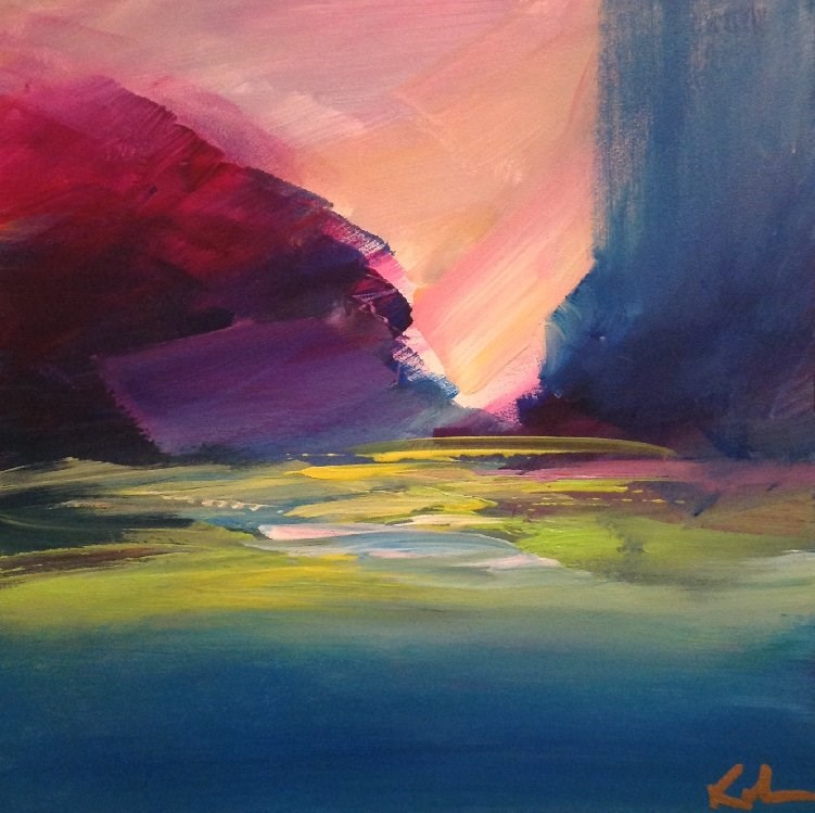 """Still Wishing"" original fine art by David Kuhn"