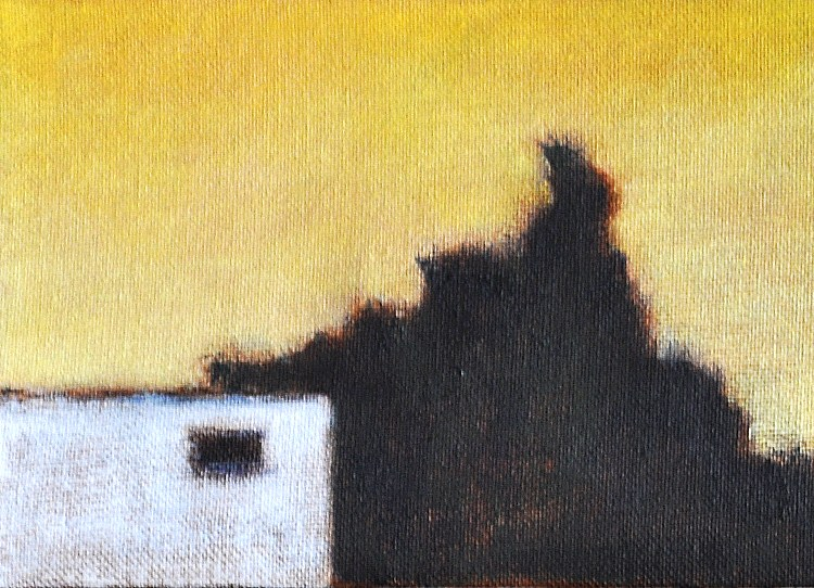 """May Sunset in North Park"" original fine art by Kevin Inman"