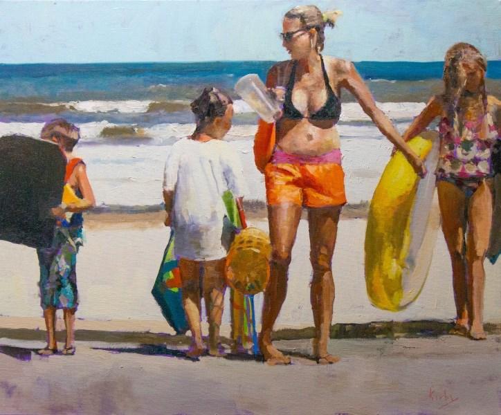 """The Big Day"" original fine art by Randall Cogburn"