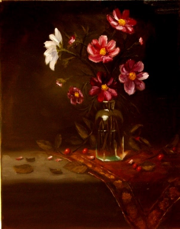 """Cosmos II"" original fine art by Mary Datum"
