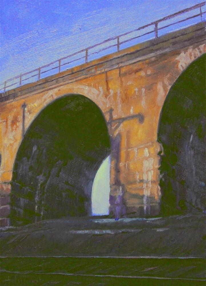 """""""Golden Arches"""" original fine art by Ski Holm"""