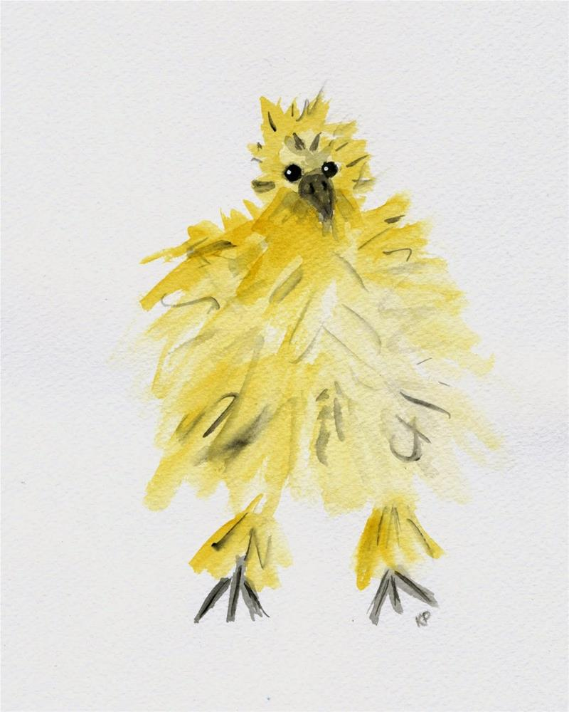"""Fuzzy"" original fine art by Kali Parsons"