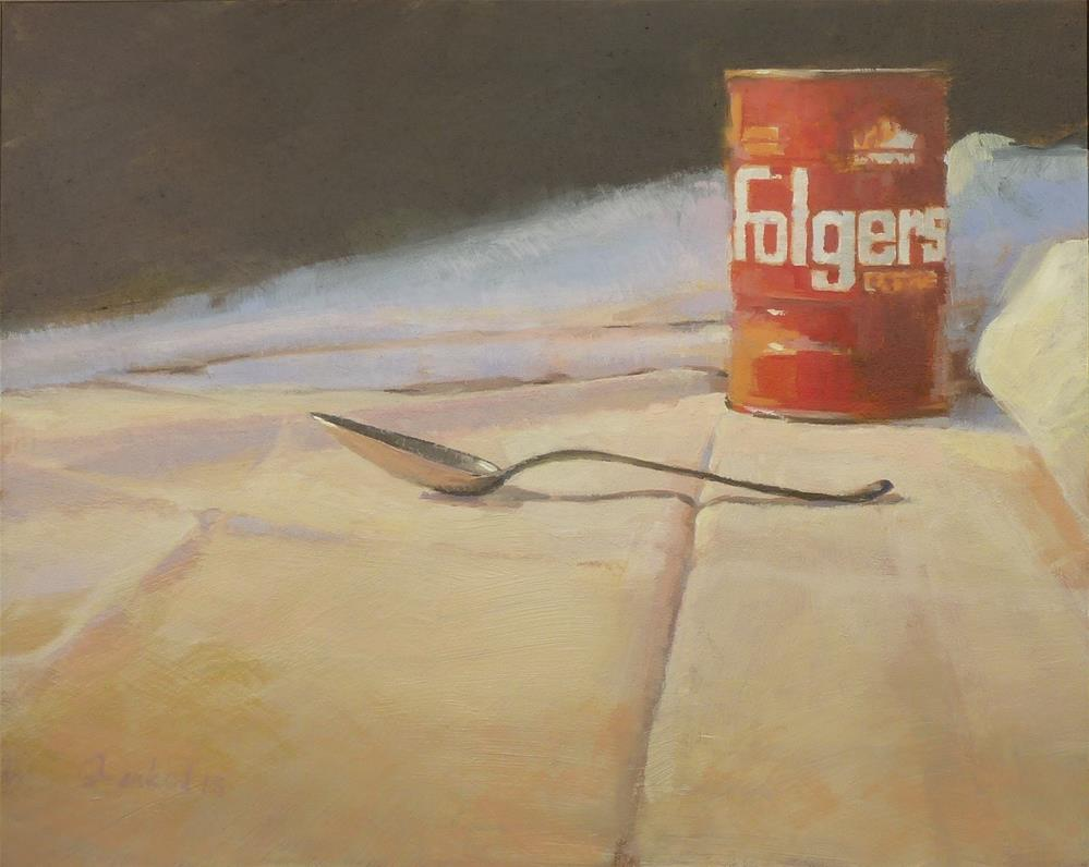 """Folgers Revised"" original fine art by Ron Ferkol"