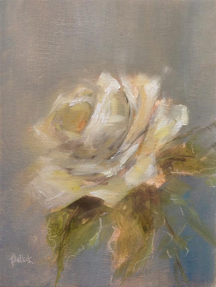 """White #691"" original fine art by Heidi Shedlock"