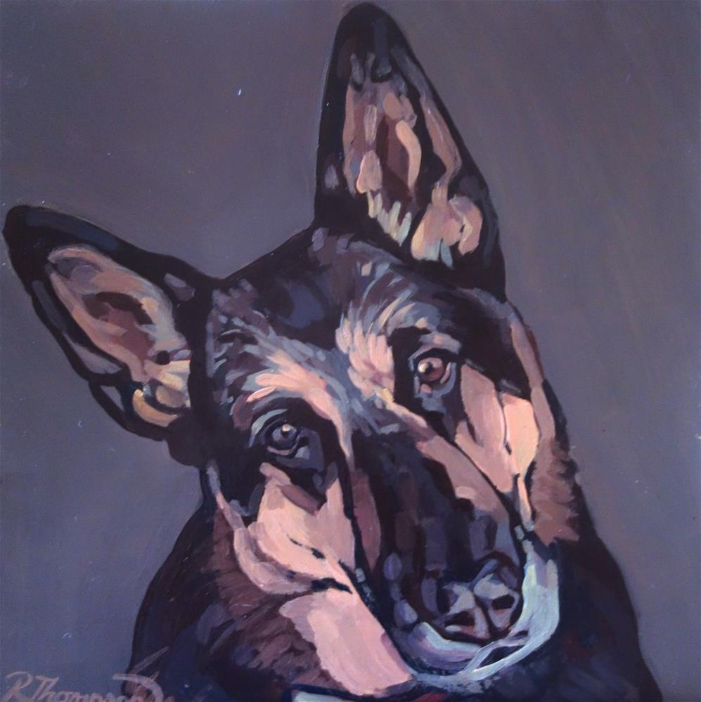 """Lola"" original fine art by Rachel Thompson"