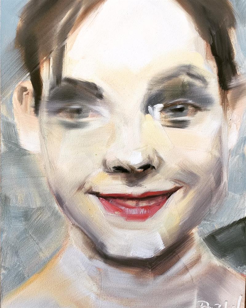 """514 Fluidity"" original fine art by Jenny Doh"