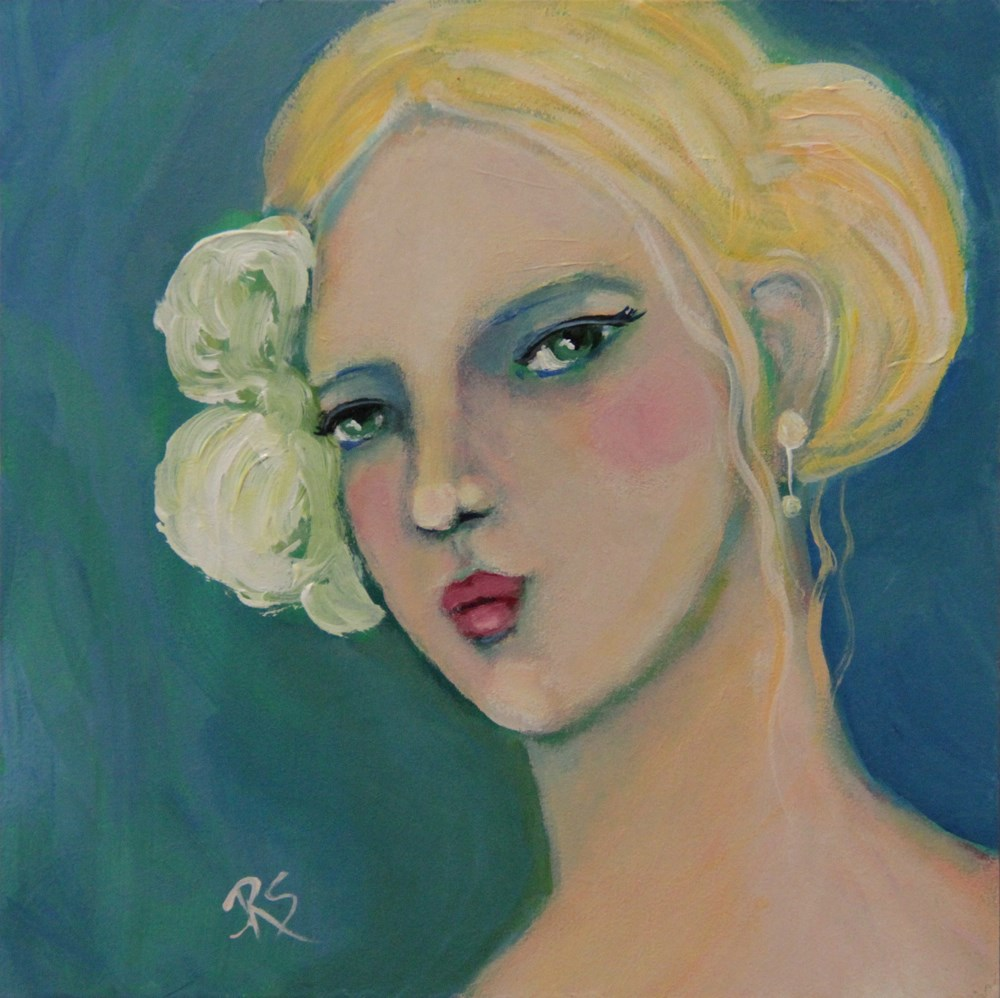 """""""Natasha"""" original fine art by Roberta Schmidt"""