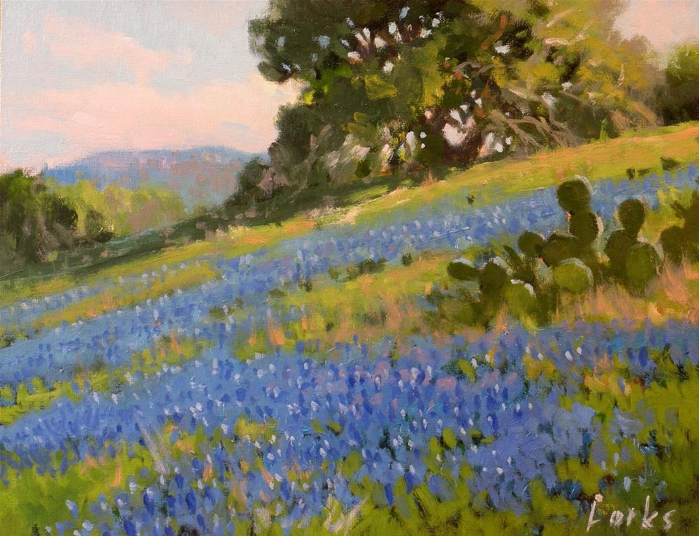 """Late Afternoon"" original fine art by David Forks"