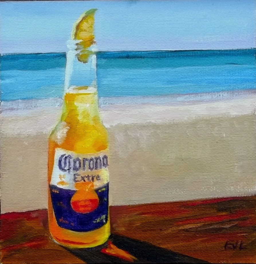 """Want a Lime with That?"" original fine art by Eric Larson"
