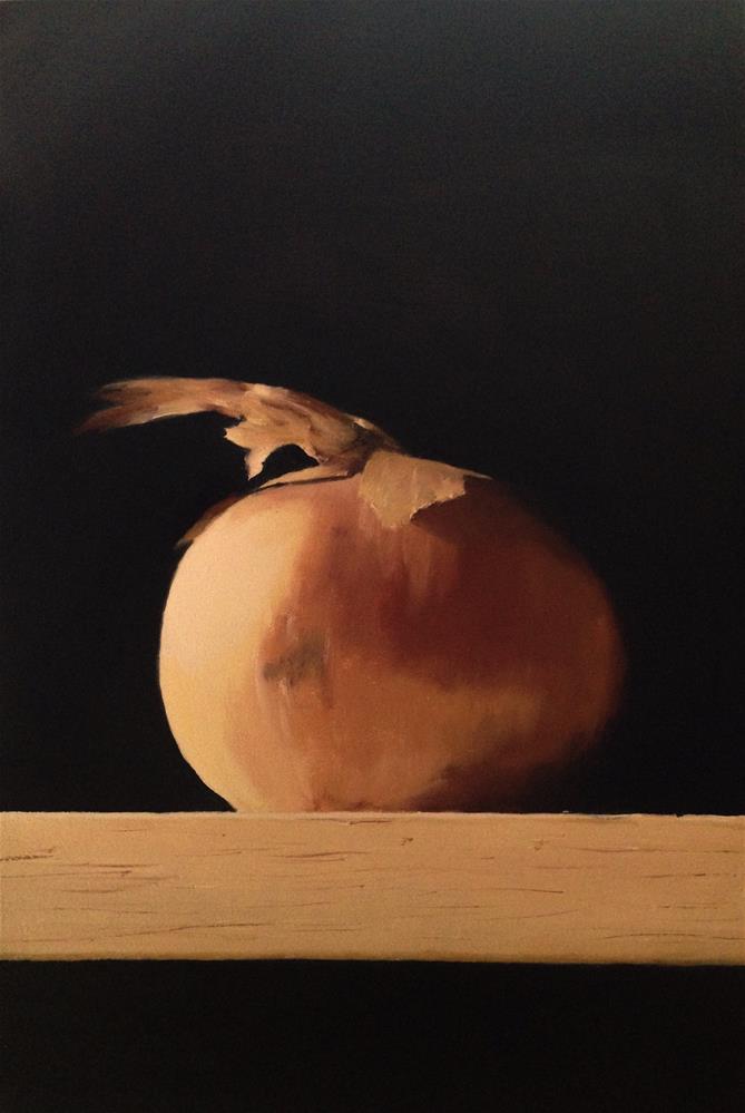 """Onion"" original fine art by James Coates"