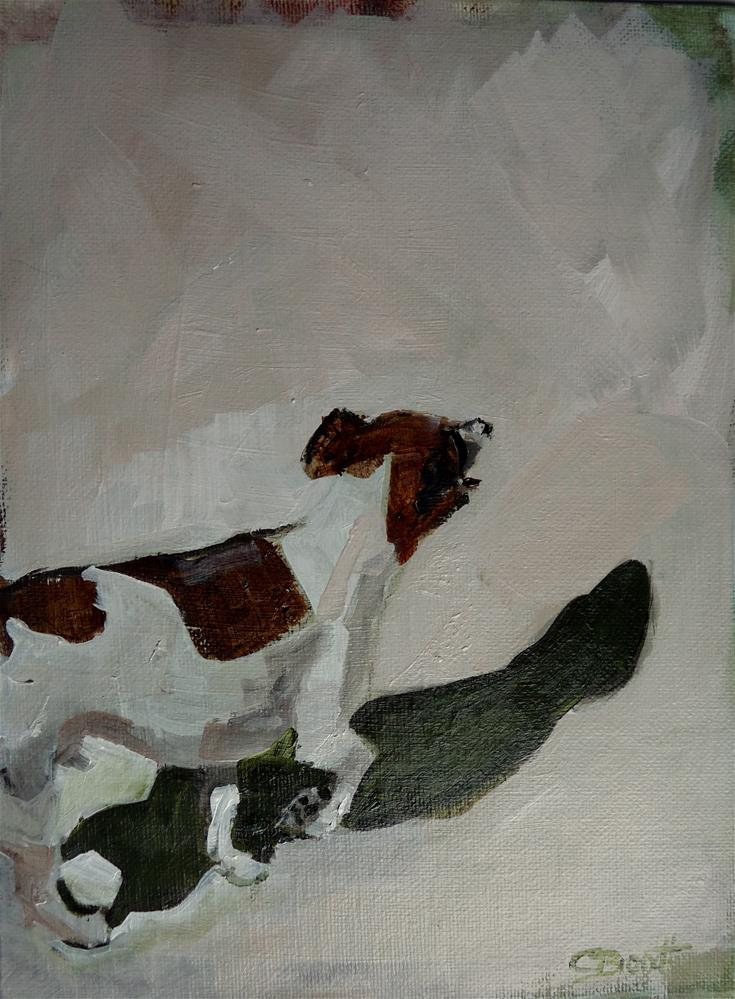 """dog no2"" original fine art by Claudia Brandt"