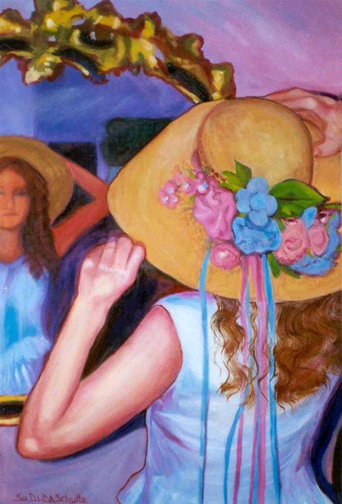 """One Last Glance"" original fine art by Susan Duda"