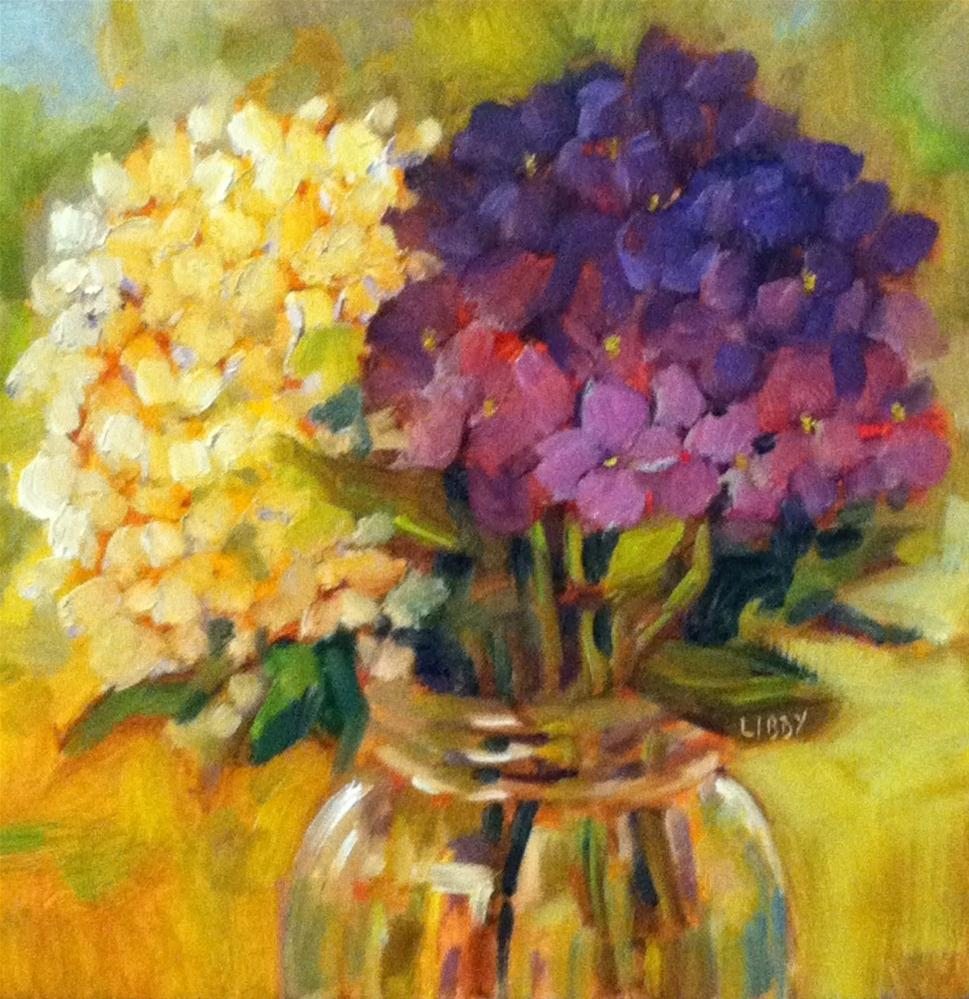 """Bright Jar"" original fine art by Libby Anderson"