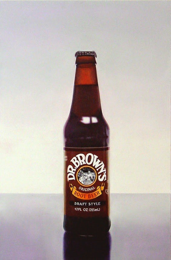 """Dr. Brown's Root Beer"" original fine art by Gerard Boersma"