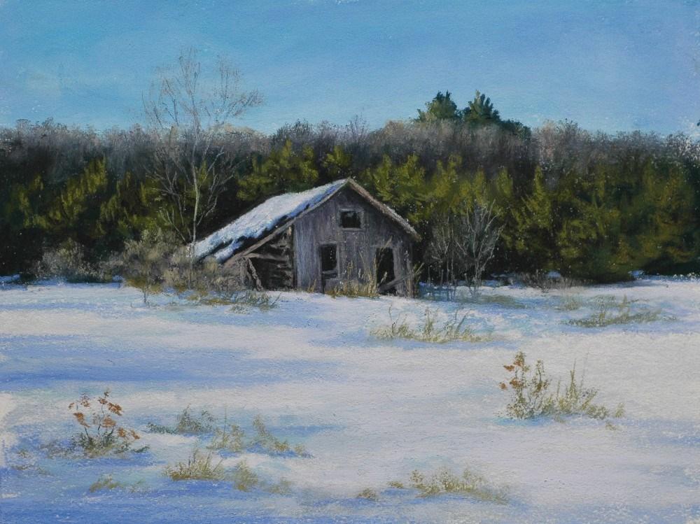 """The Shack"" original fine art by Susan Klabak"