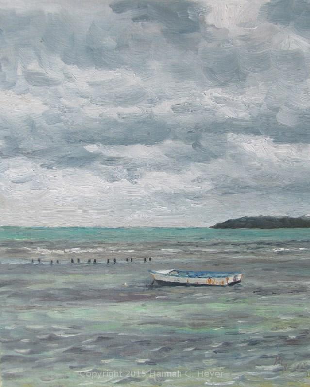 """Loner"" original fine art by Hannah C. Heyer"
