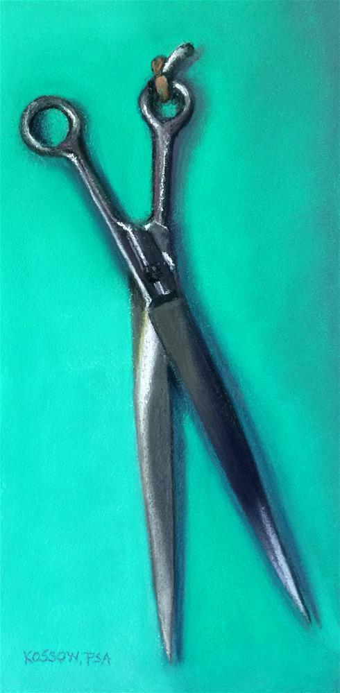"""""""Shear It"""" original fine art by Cristine Kossow"""
