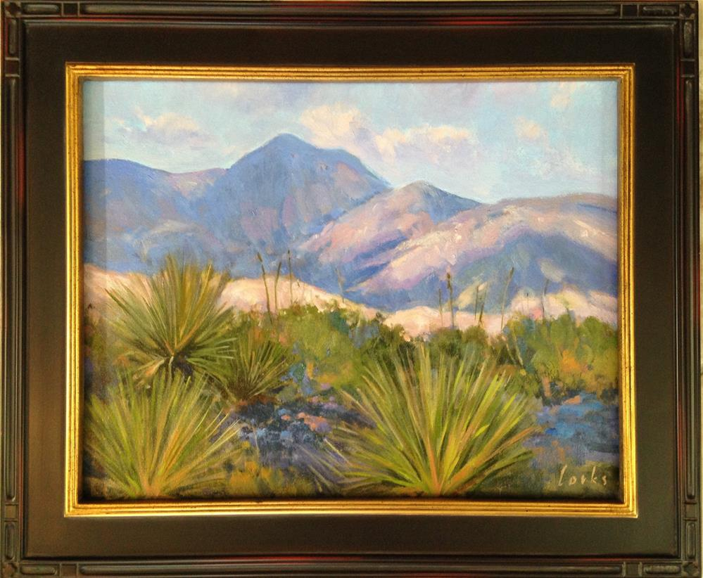 """Sotol and Chisos"" original fine art by David Forks"