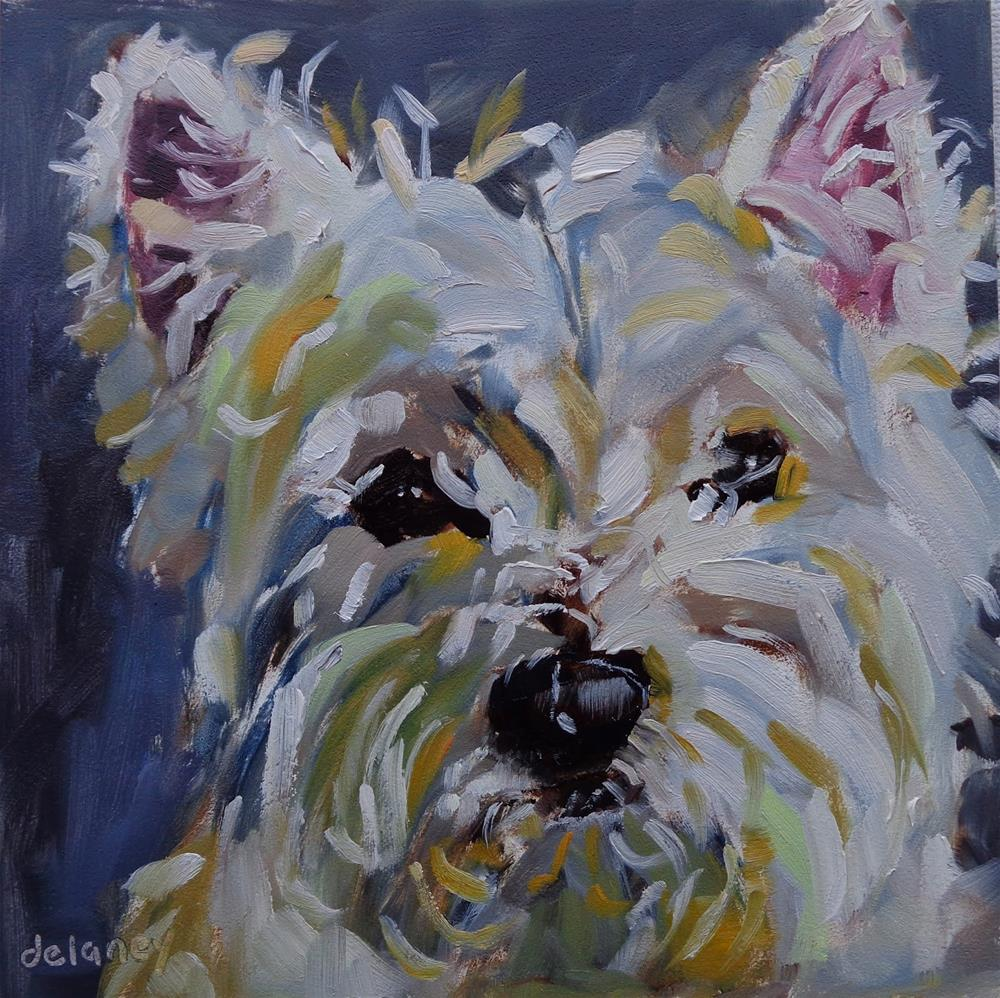"""BENNY"" original fine art by Jean Delaney"