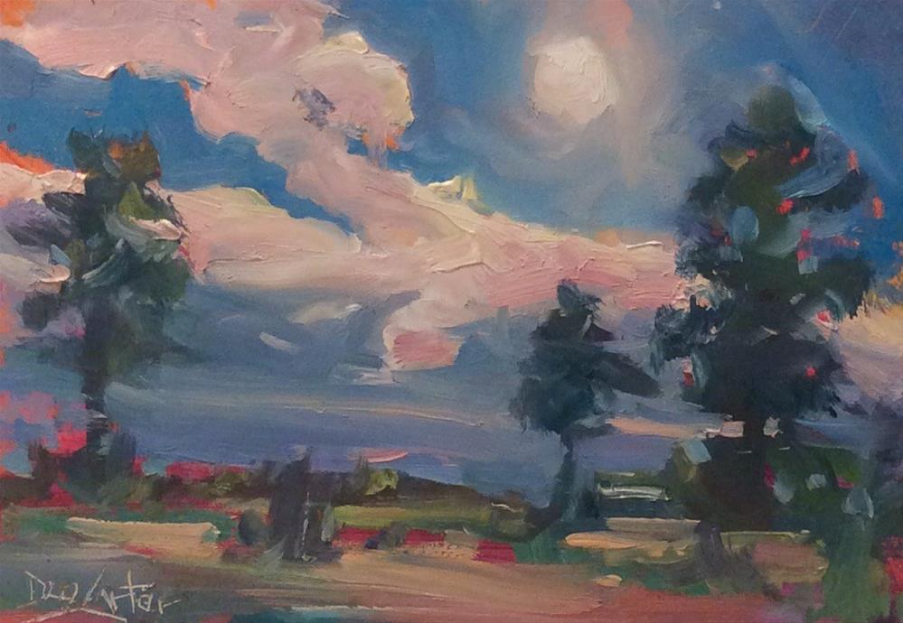 """""""MOONLIGHT"""" original fine art by Doug Carter"""