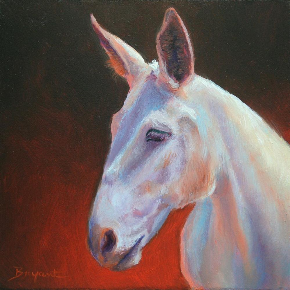 """Canyon Mule"" original fine art by Debra Bryant"