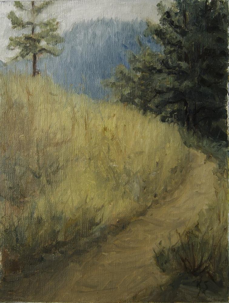 """Pathway in Pedro Valley"" original fine art by Rachel Steely"