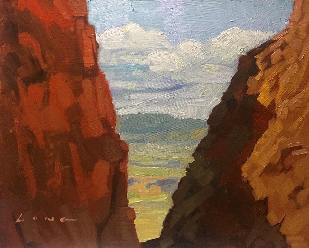 """Noon, Glen Canyon"" original fine art by Chris Long"