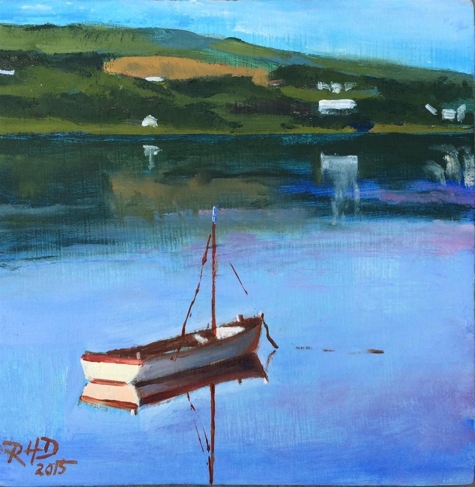 """""""Dingle Bay Reflections"""" original fine art by Richard Doyle"""