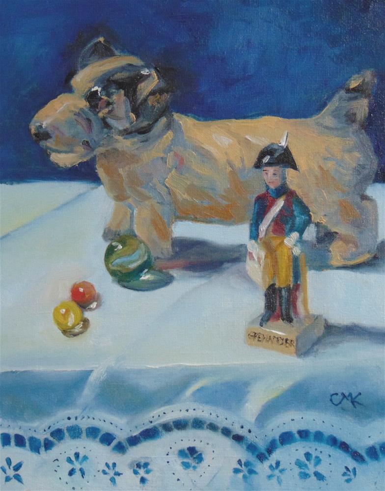 """The Grenadier"" original fine art by Catherine Kauffman"