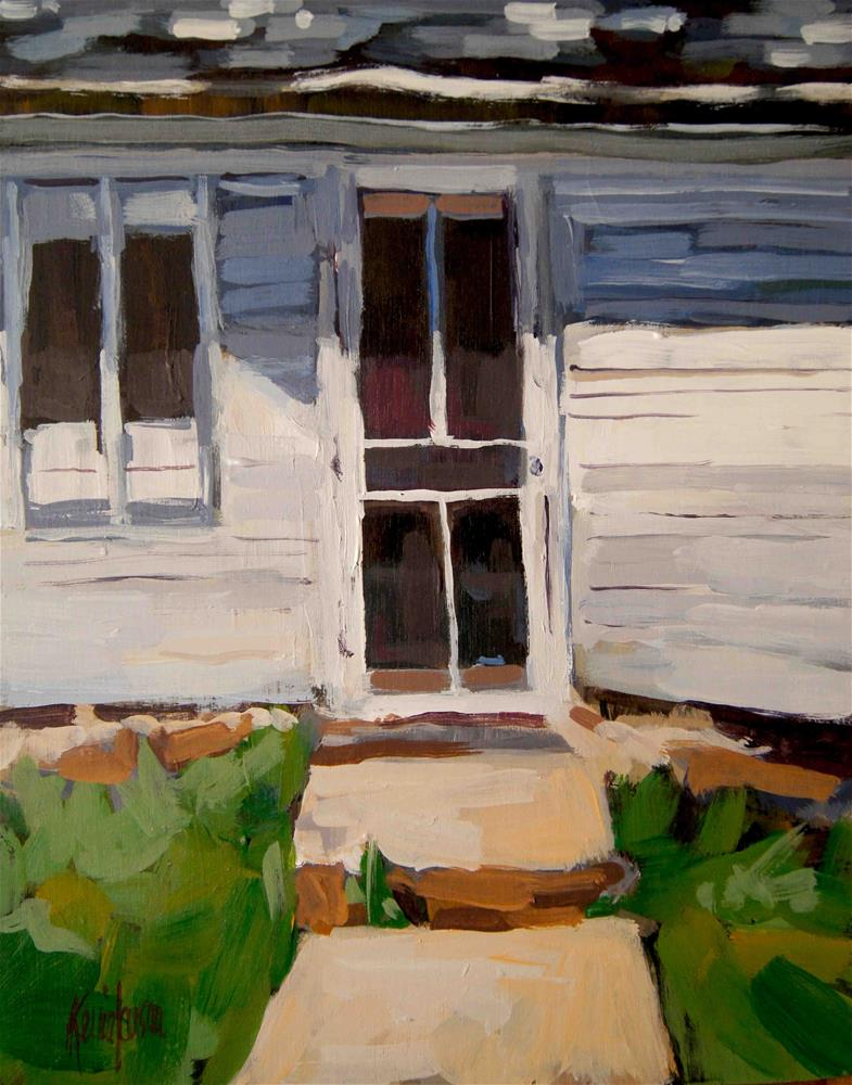 """Farm Screen Door 2"" original fine art by Kevin Larson"