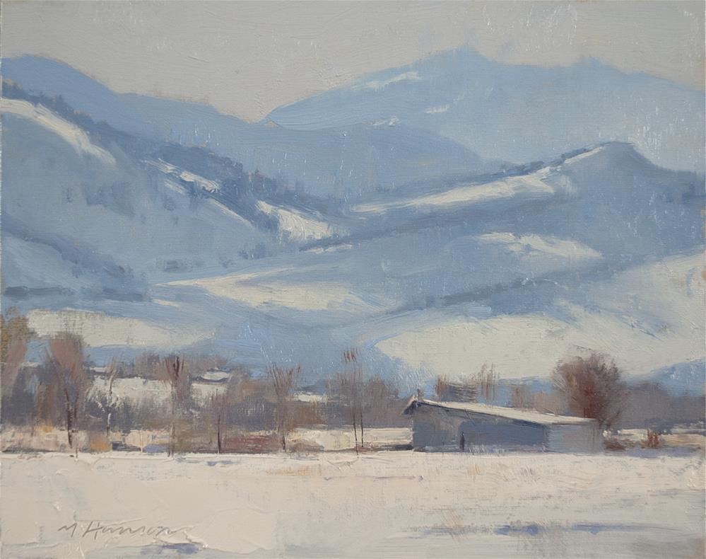 """2-6-4 39th St View"" original fine art by Marc Hanson"