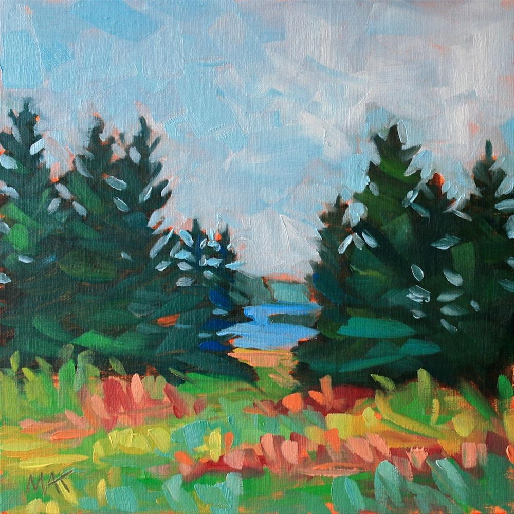"""Vinalhaven"" original fine art by Mary Anne Cary"