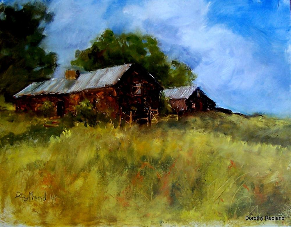 """Old Quested place"" original fine art by Dorothy Redland"