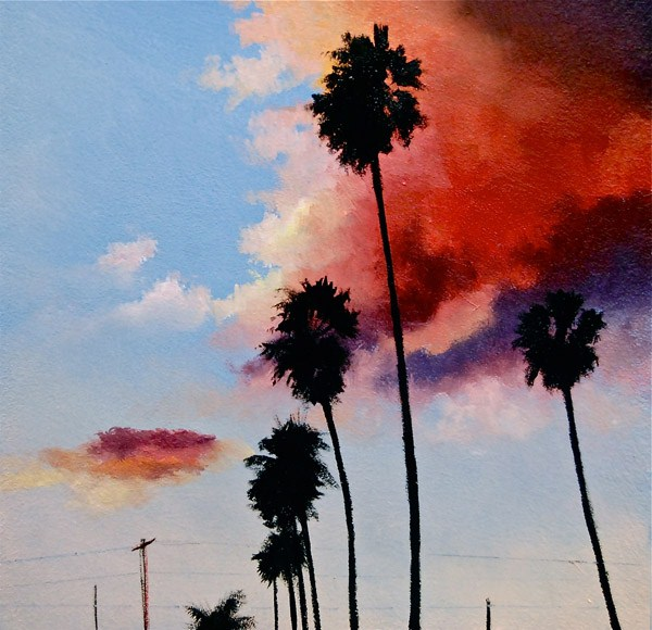 """MY L.A."" original fine art by Gerald Schwartz"