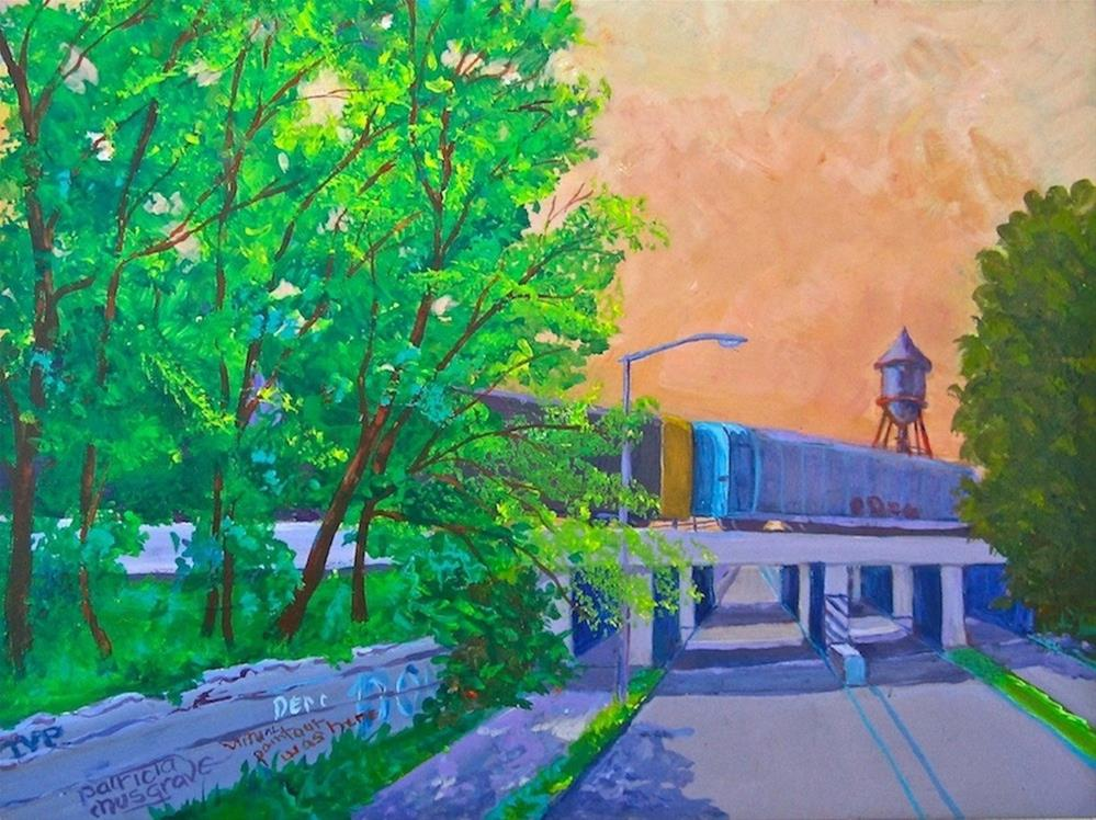 """Trumbull Street Underpass"" original fine art by Patricia Musgrave"