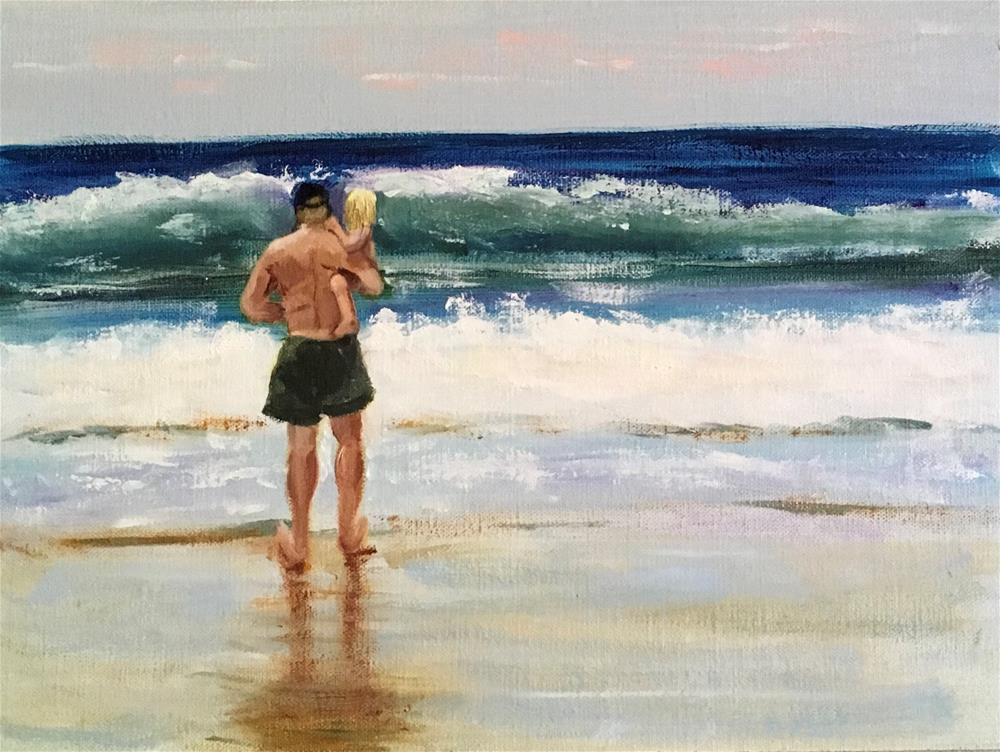 """When You Were Little"" original fine art by Patty Barnes"