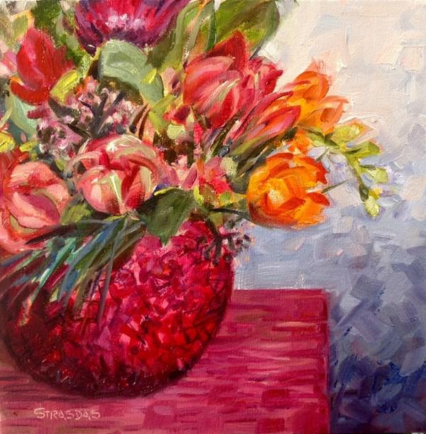 """""""Fresh Start"""" original fine art by Marcela Strasdas"""