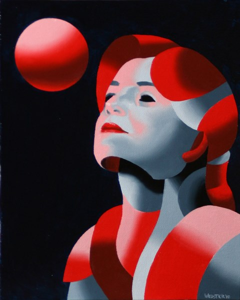 """Mark Adam Webster - Dark Matter Painting Series #10"" original fine art by Mark Webster"