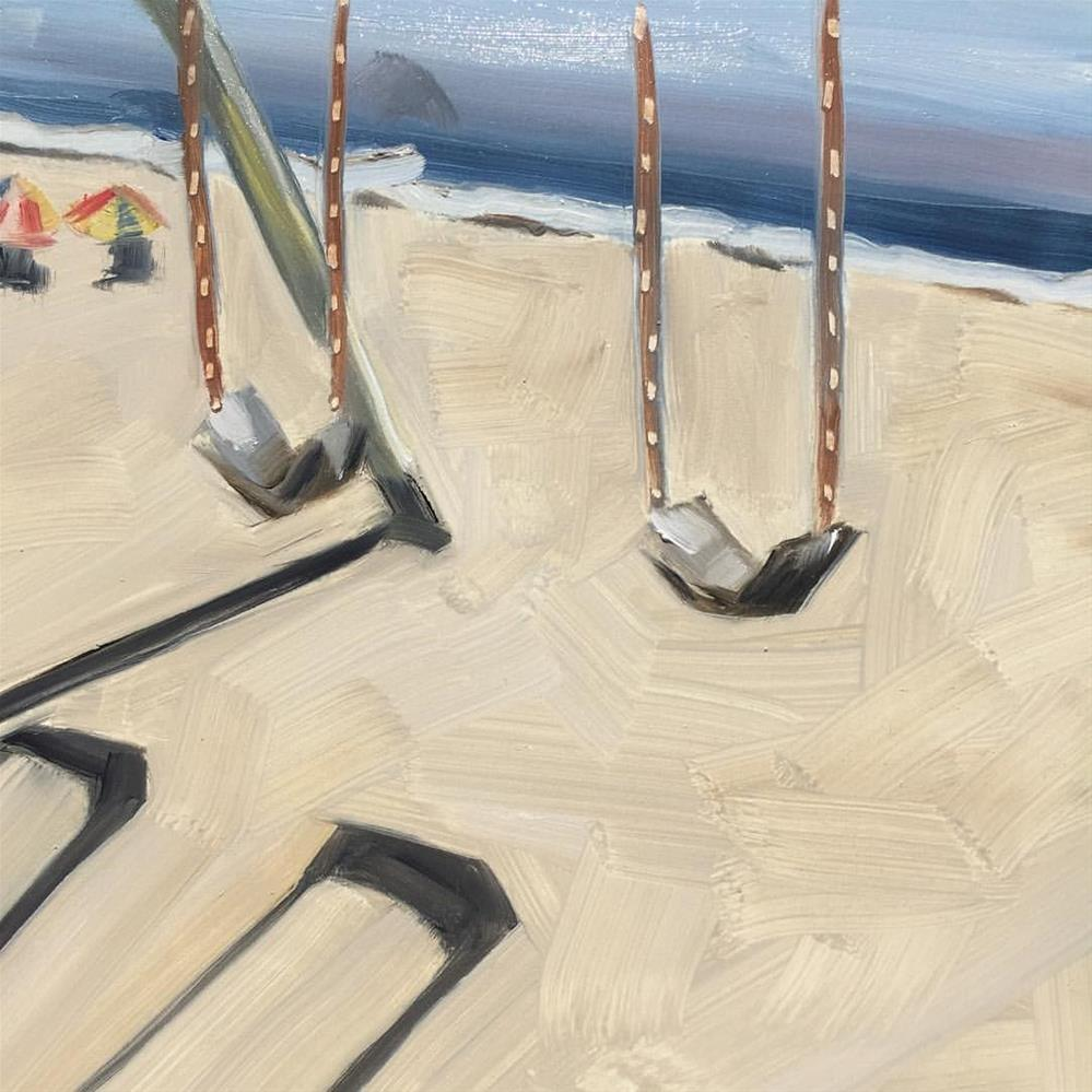 """""""351 Swings and Shadows"""" original fine art by Jenny Doh"""