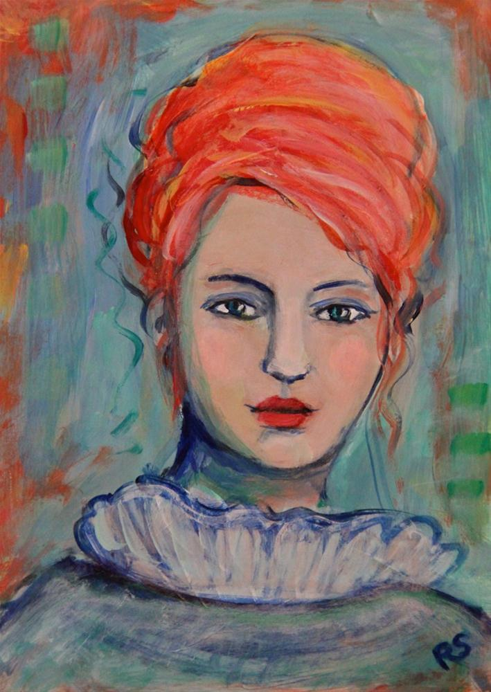 """Mary"" original fine art by Roberta Schmidt"
