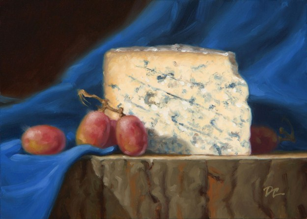 """English Stilton"" original fine art by David Capalungan"
