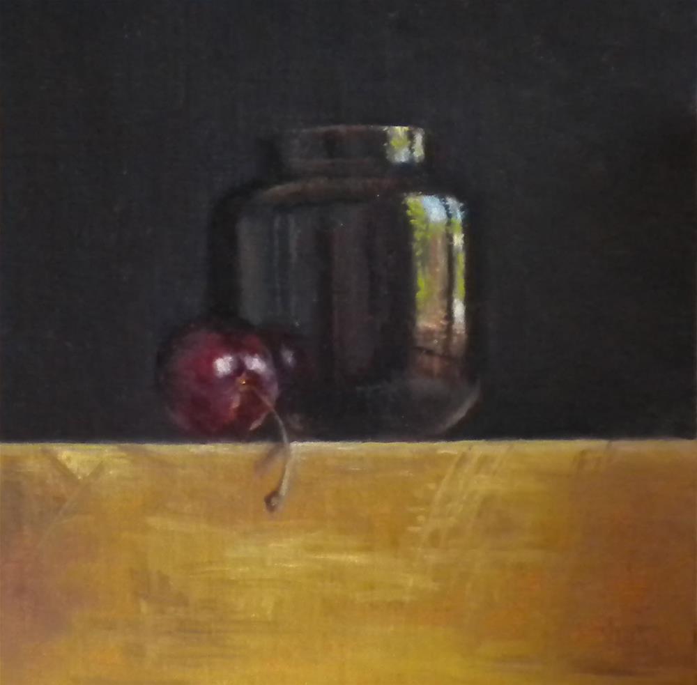 """Content"" original fine art by Darla McDowell"