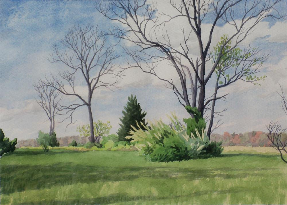 """Three Trees"" original fine art by Greg Arens"