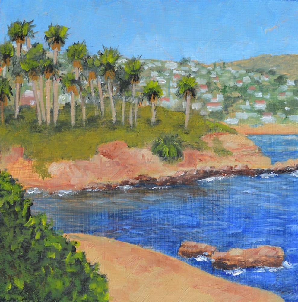 """Laguna Beach"" original fine art by Robert Frankis"