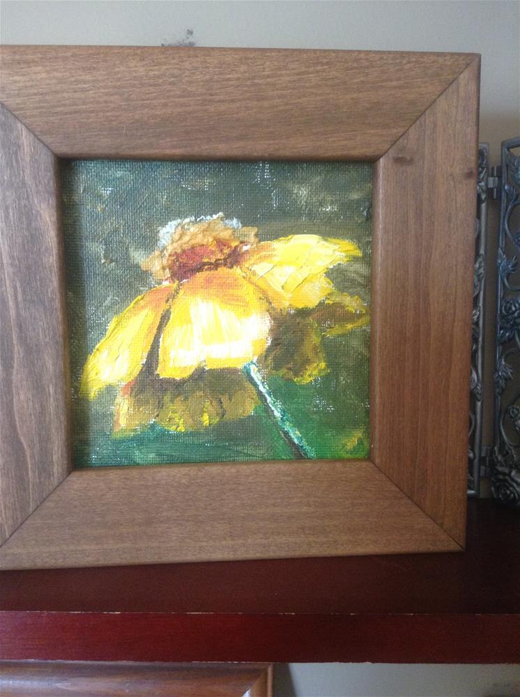 """""""Flower 1"""" original fine art by Cynthia Buell"""