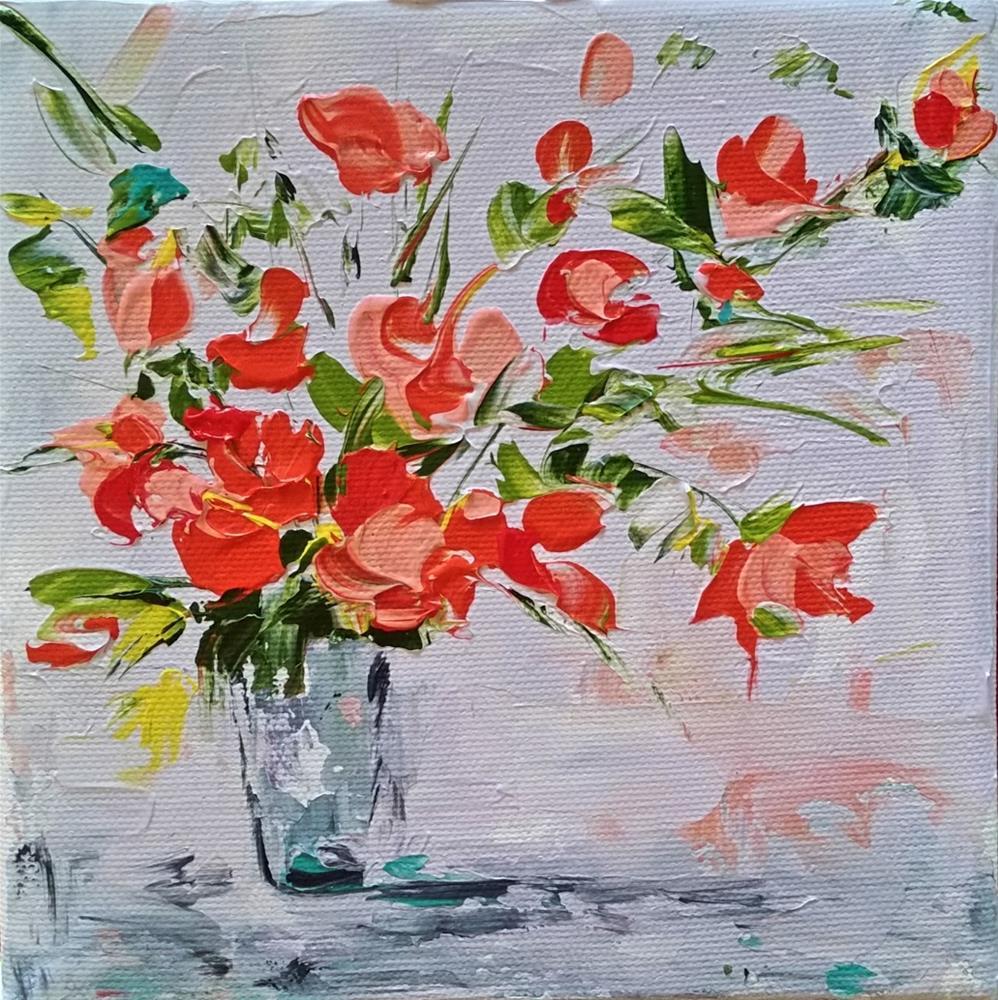 """""""112 - Fever of Spring"""" original fine art by Lisa Whitener"""