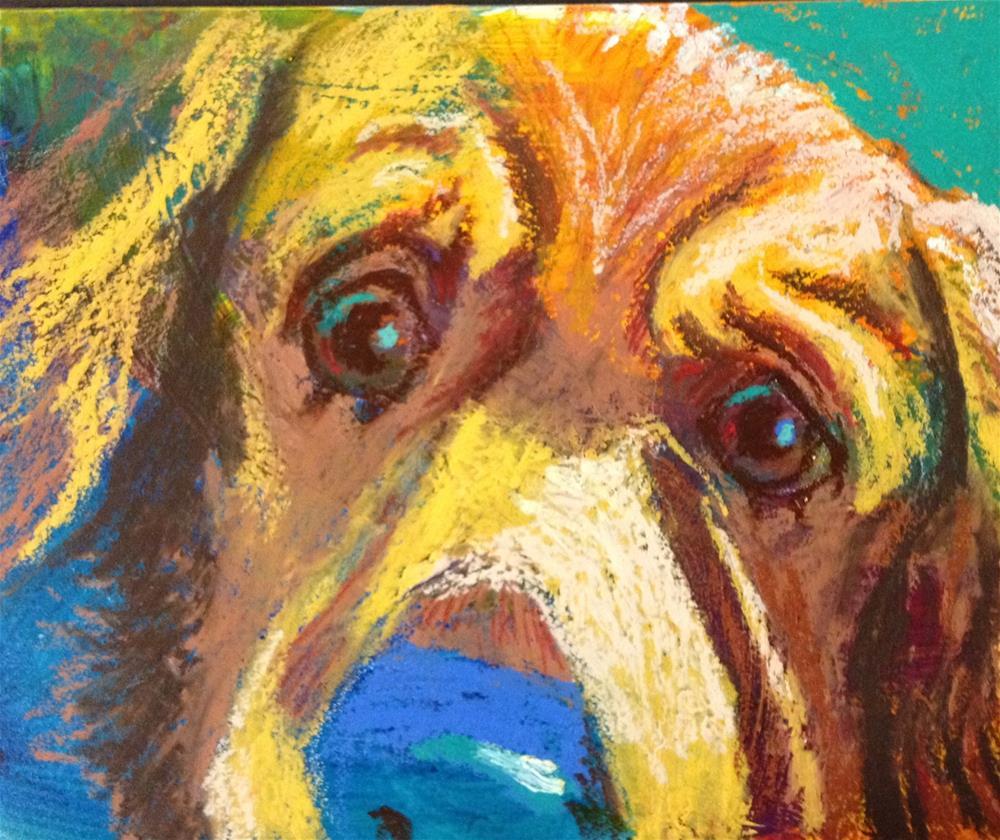 """""""Do I look worried?"""" original fine art by Jeff Leedy"""