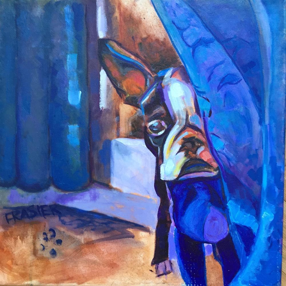 """Maddie"" original fine art by Patti Frasier"