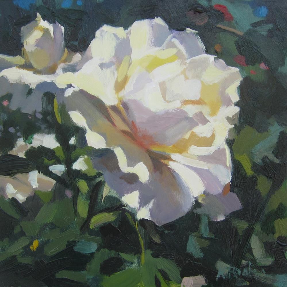 """Sunny Rose"" original fine art by Kaethe Bealer"