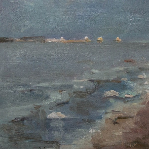 """Calm Bay"" original fine art by Randall Cogburn"